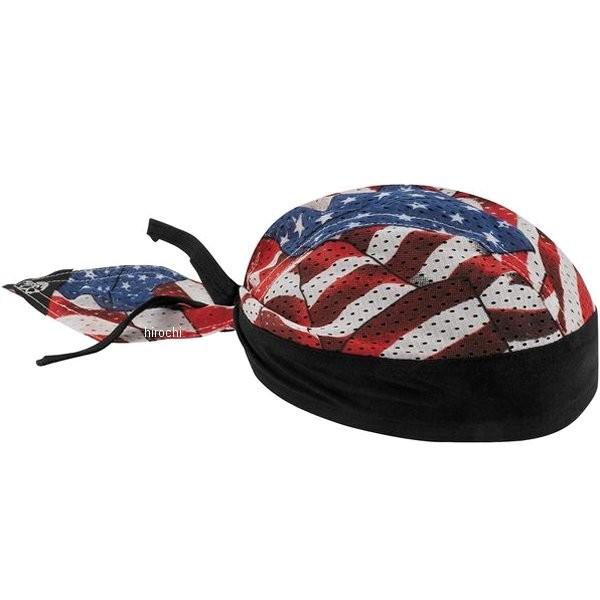 USA在庫あり ザンヘッドギア ZAN Headgear 通気 フライダナ 休日 ヘッドラップ Flag 春の新作シューズ満載 HD店 503059 Wavy