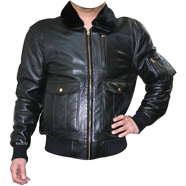 モトフィールド MOTO FIELD 秋冬モデル A-2ボンバージャケット 黒 Lサイズ MF-LJ132 HD店