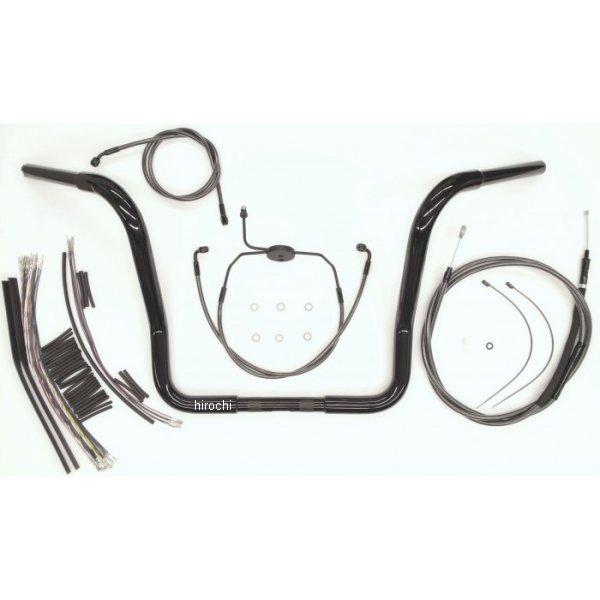 【USA在庫あり】 マグナム MAGNUM 1.25インチ ハンドルセット Bagger 12インチ 08年-13年 FLH(ABS無し) 黒 0601-3688 HD店