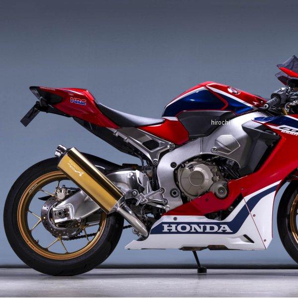 ヤマモトレーシング スリップオンマフラー 17年以降 CBR1000RR TYPE-S ゴールド/チタン 11014-01NSG HD店