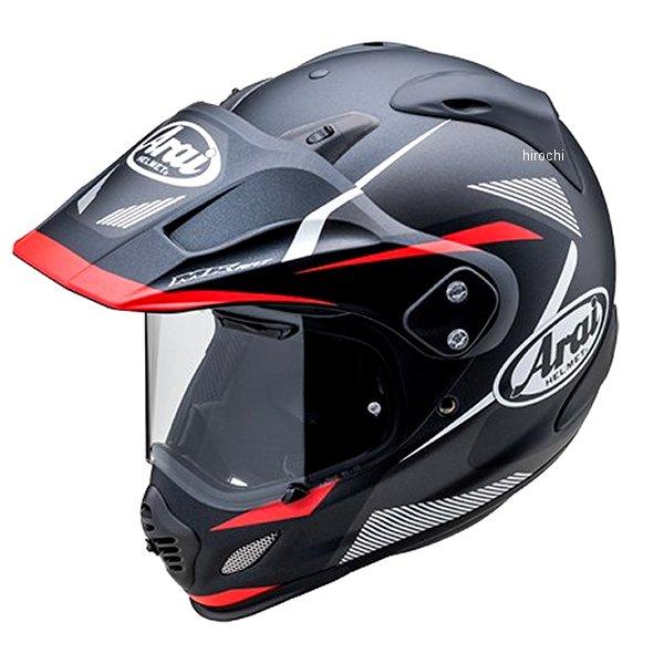【メーカー在庫あり】 山城×アライ ヘルメット ツアークロス3 ブレイク 黒/赤 XSサイズ (54cm) 4530935528059 HD店