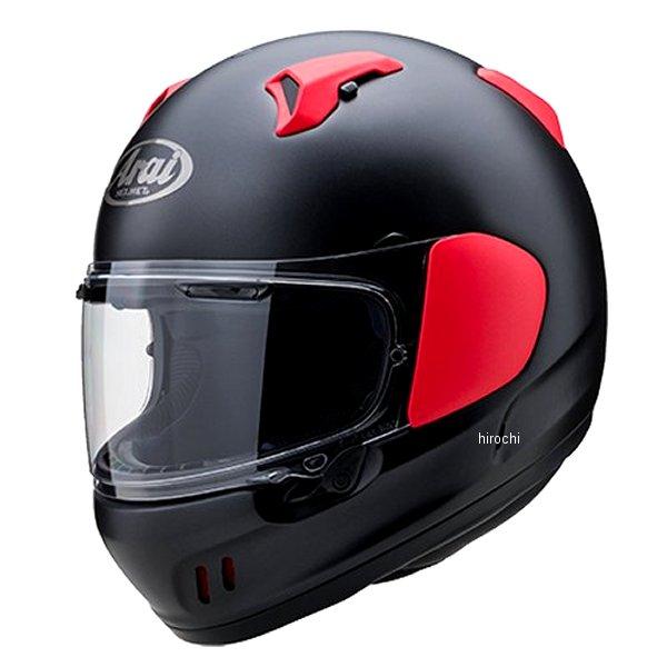 山城×アライ ヘルメット エックス ディー フラット黒/赤 XSサイズ (54cm) 4530935528202 HD店