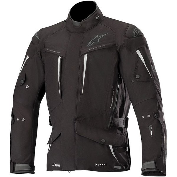アルパインスターズ Alpinestars 秋冬モデル ジャケット YAGUARA DRYSTAR TECH-AIR 黒/アンスラサイト 2XLサイズ 8033637170343 HD店