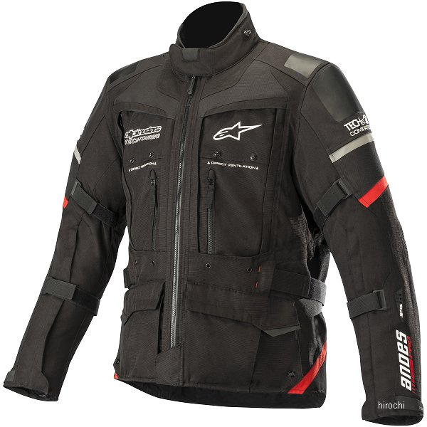 アルパインスターズ Alpinestars 秋冬モデル ジャケット ANDES PRO DRYSTAR TECH-AIR 黒/赤 XLサイズ 8033637205113 HD店