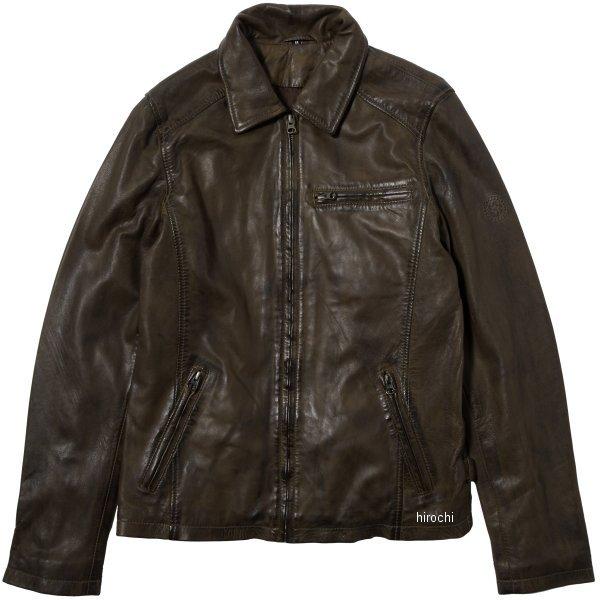 ライズ RIDEZレザージャケット SEVEN オリーブ Lサイズ RLJ702-L HD店