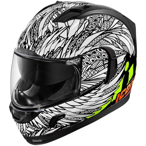 【USA在庫あり】 アイコン ICON フルフェイスヘルメット Alliance GT Bird Strike 白 Sサイズ 0101-11249 HD店