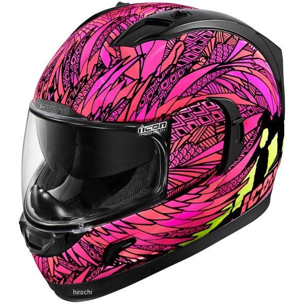 【USA在庫あり】 アイコン ICON フルフェイスヘルメット Alliance GT Bird Strike ピンク 2XLサイズ 0101-11260 HD店