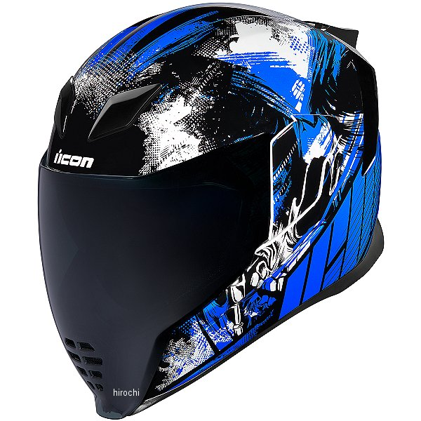 アイコン ICON フルフェイスヘルメット Airflite Stim 青 Sサイズ 0101-11283 HD店