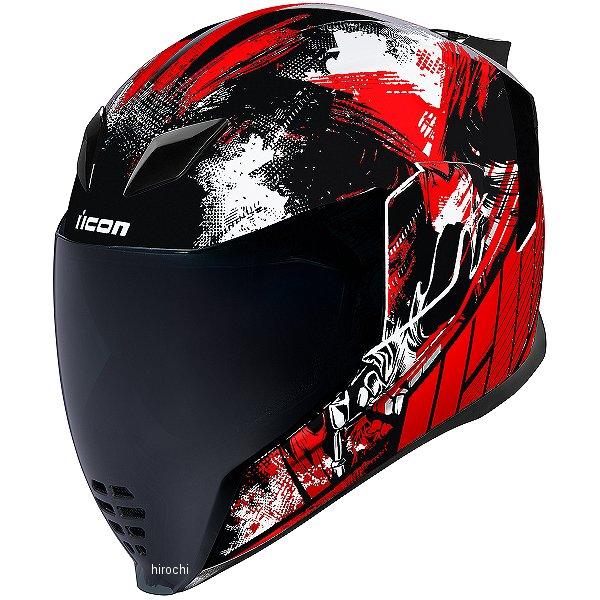 【USA在庫あり】 アイコン ICON フルフェイスヘルメット AIRFLITE STIM 赤 Mサイズ 0101-11291 HD店