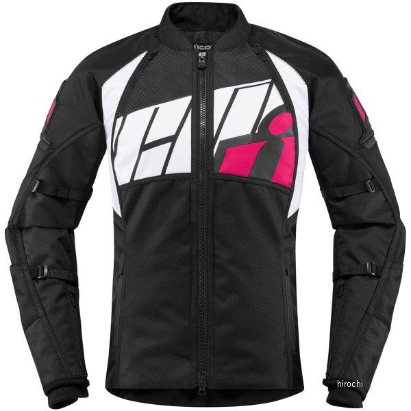 【USA在庫あり】 アイコン ICON 2018年秋冬モデル ジャケット AUTOMAG 2 レディース ピンク Lサイズ 2822-1094 HD店