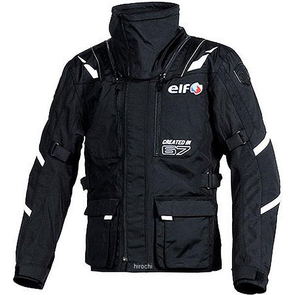 エルフ elf 2018年秋冬モデル ストレッチナイロンブルゾン 黒 LWサイズ EL-8244 HD店