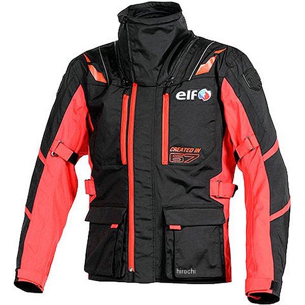エルフ elf 2018年秋冬モデル ストレッチナイロンブルゾン 赤 LLサイズ EL-8244 HD店