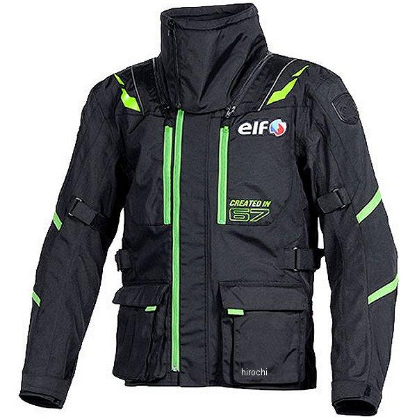 エルフ elf 2018年秋冬モデル ストレッチナイロンブルゾン 緑 3Lサイズ EL-8244 HD店
