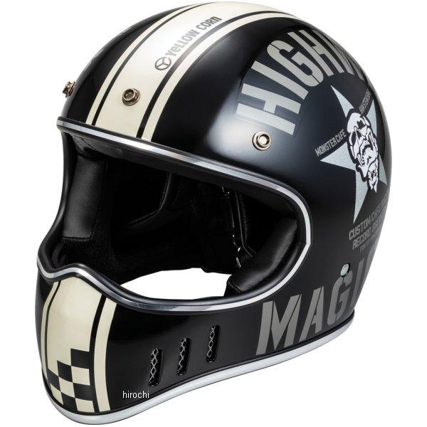イエローコーン YeLLOW CORN 2018年秋冬モデル フルフェイスヘルメット マットブラック フリーサイズ YBFH-002 HD店