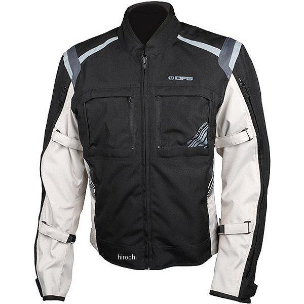 【メーカー在庫あり】 ディーエフジー DFG 秋冬モデル ナビゲータークールジャケット 黒/シルバー XLサイズ DG2304-0014 HD店