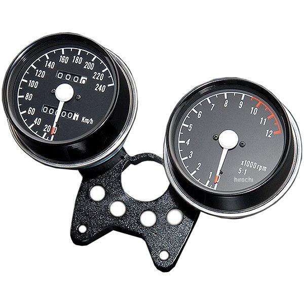 【メーカー在庫あり】 ドレミコレクション メーターASSY Z1、Z2 240km/hレーシングメーター ブラケット付き 10906 HD店