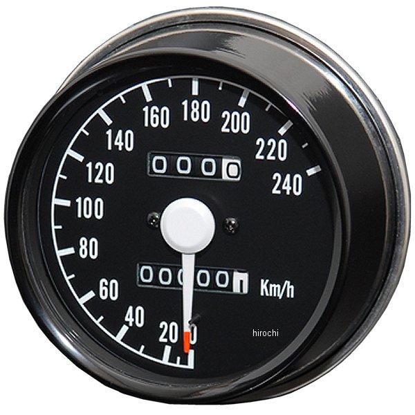 【メーカー在庫あり】 ドレミコレクション スピードメーター レーシングタイプ Z1、Z2、Z1000 10907 HD店