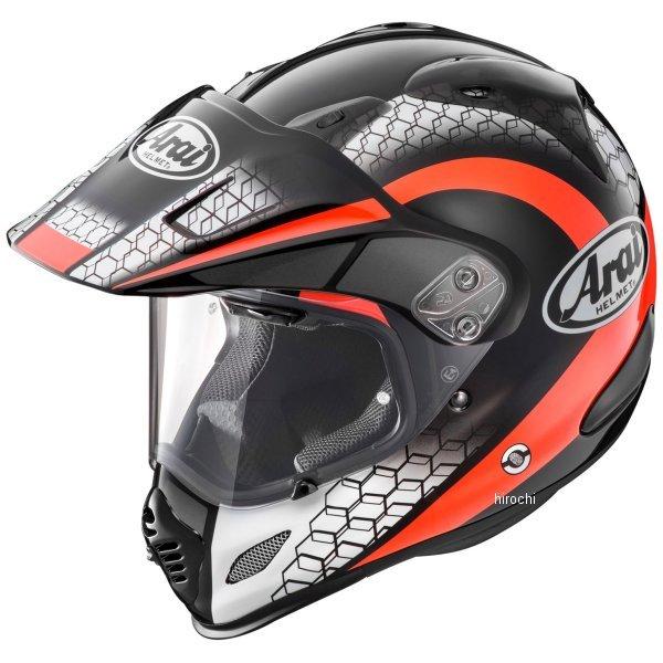 アライ Arai オフロードヘルメット ツアークロス3 メッシュ 赤 XLサイズ(61cm-62cm) 4530935473625 HD店