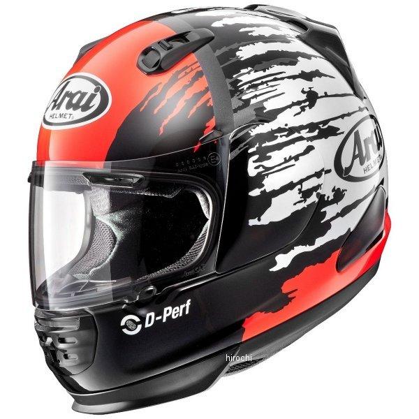 アライ Arai フルフェイスヘルメット ラパイド-IR スプラッシュ 赤 Mサイズ(57cm-58cm) 4530935477821 HD店