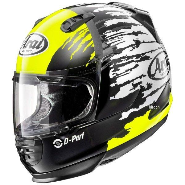 アライ Arai フルフェイスヘルメット ラパイド-IR スプラッシュ 黄 XLサイズ(61cm-62cm) 4530935477890 HD店
