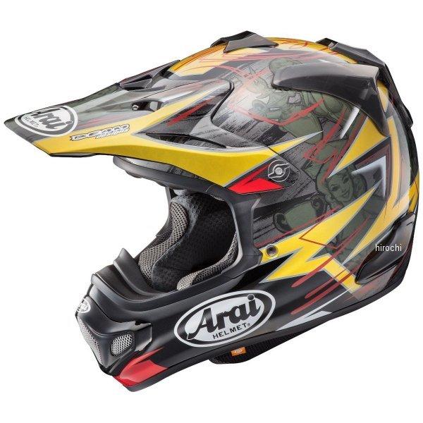 アライ Arai オフロードヘルメット V-クロス4 ティックル Lサイズ(59cm-60cm) 4530935478033 HD店