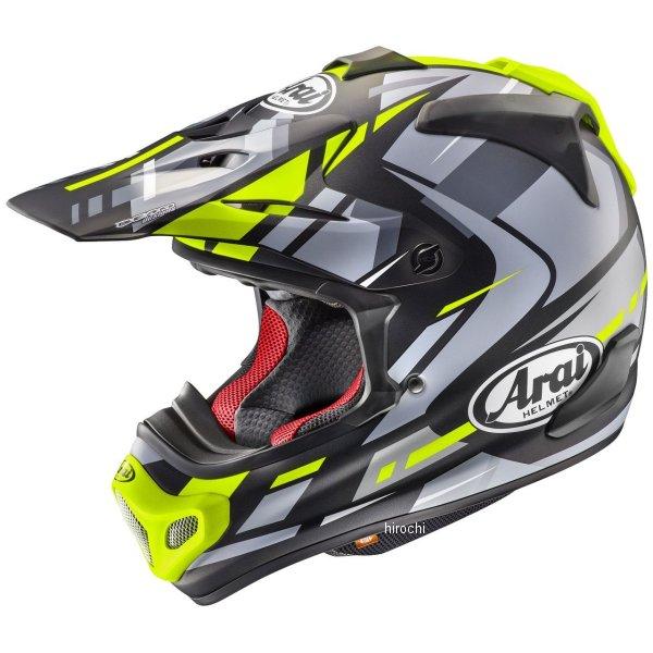 アライ Arai オフロードヘルメット V-クロス4 ボーグル 黄(つや消し) Mサイズ(57cm-58cm) 4530935508822 HD店