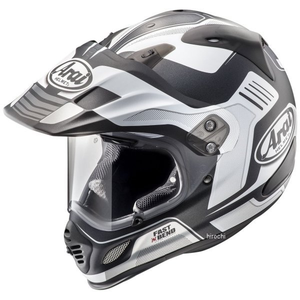 【メーカー在庫あり】 アライ Arai オフロードヘルメット ツアークロス3 ビジョン 白(つや消し) Mサイズ(57cm-58cm) 4530935500789 HD店