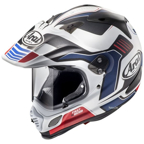 アライ Arai オフロードヘルメット ツアークロス3 ビジョン 赤(つや消し) XLサイズ(61cm-62cm) 4530935500857 HD店