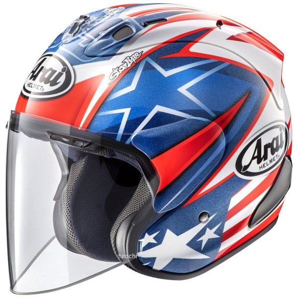 アライ Arai オープンフェイスヘルメット SZ-RAM4X ヘイデンSB Mサイズ(57cm-58cm) 4530935501847 HD店