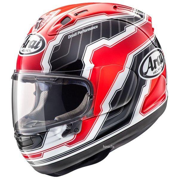 【メーカー在庫あり】 アライ Arai フルフェイスヘルメット RX-7X マモラ 赤 Mサイズ(57cm-58cm) 4530935504053 HD店