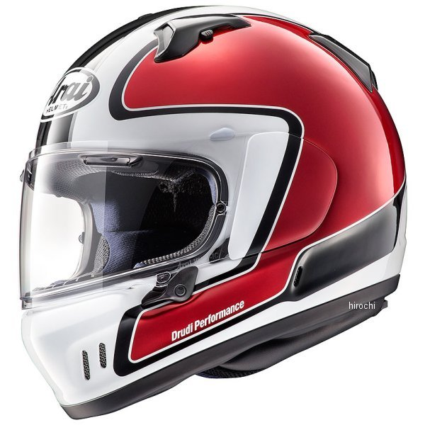 アライ Arai フルフェイスヘルメット エックスディー アウトライン 赤 Mサイズ(57cm-58cm) 4530935514755 HD店