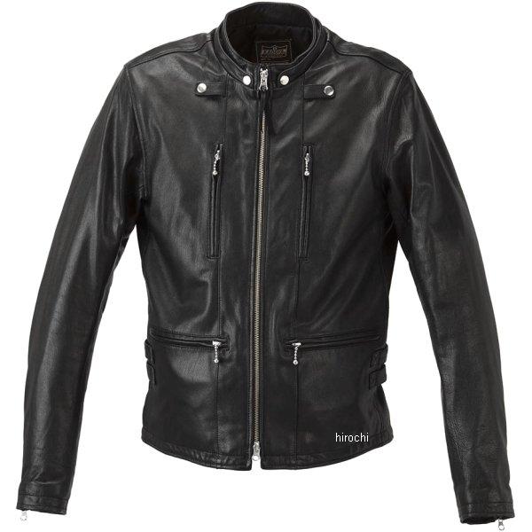 カドヤ KADOYA 2018年秋冬モデル レザージャケット EURO CAPP 黒 3Lサイズ 1190-1 HD店
