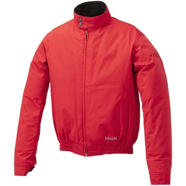 カドヤ KADOYA 秋冬モデル ジャケット CRUISE RIDE-WINTER 赤 5Lサイズ 6233 HD店