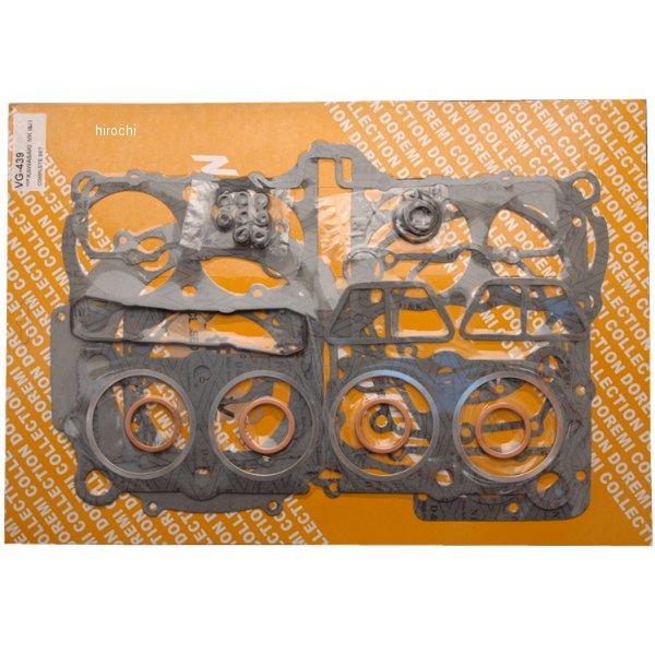 【メーカー在庫あり】 ドレミコレクション ガスケットセット 81年- 83年 Z1000J、Z1000R 70032 HD店
