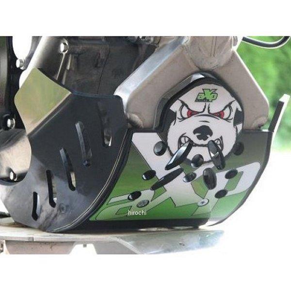 【メーカー在庫あり】 エーエックスピーレーシング AXP RACING スキッドプレート ED 09年-12年 KX250F AX1087