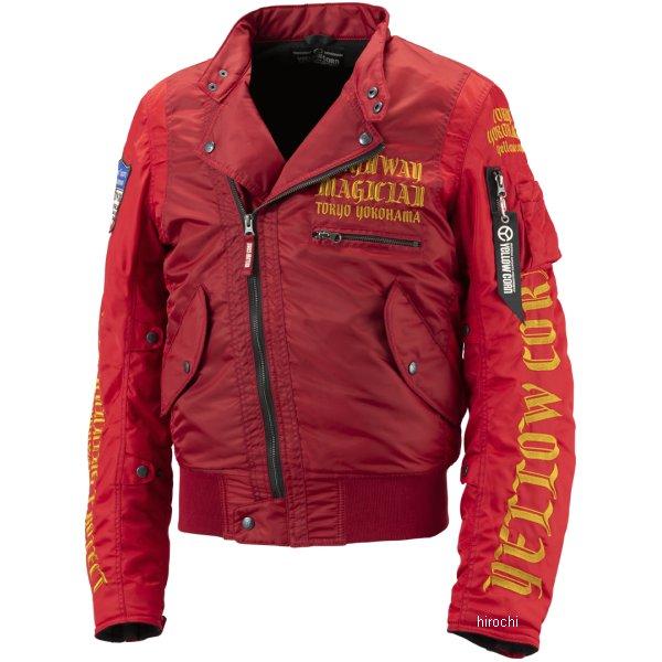 イエローコーン YeLLOW CORN 2018年秋冬モデル ウインタージャケット 赤 Lサイズ YB-8301 HD店