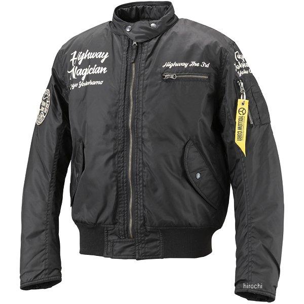 イエローコーン YeLLOW CORN 秋冬モデル ウインタージャケット 黒 Mサイズ YB-8320 HD店