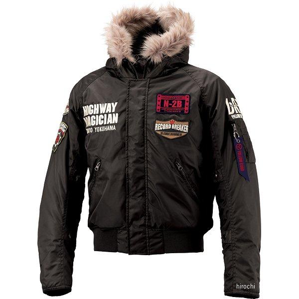イエローコーン YeLLOW CORN 2018年秋冬モデル N-2B ウインタージャケット 黒 LLサイズ YB-8325 HD店