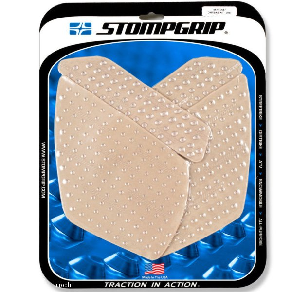 【USA在庫あり】 ストンプグリップ STOMPGRIP タンクグリップ 14年以降 KX80/100 674655 HD店