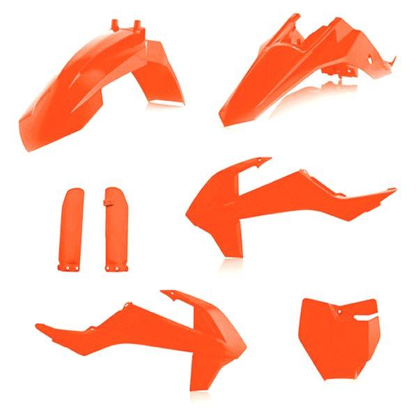 【USA在庫あり】 アチェルビス ACERBIS 外装キット フルセット 16年以降 KTM 65SX 蛍光オレンジ 732126 HD店