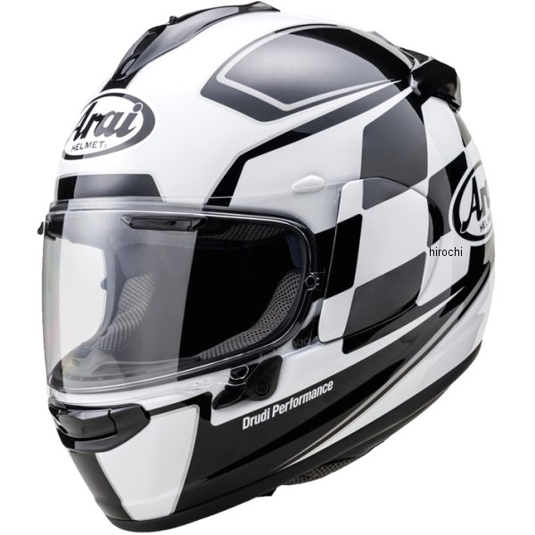 山城×アライ フルフェイスヘルメット VECTOR-X フィニッシュ 白 Lサイズ(59cm-60cm) 4530935501946 HD店