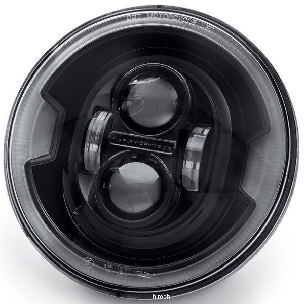【USA在庫あり】 ハーレー純正 7インチ デーメーカー プロジェクターLEDヘッドライト ブラック 67700430 HD店