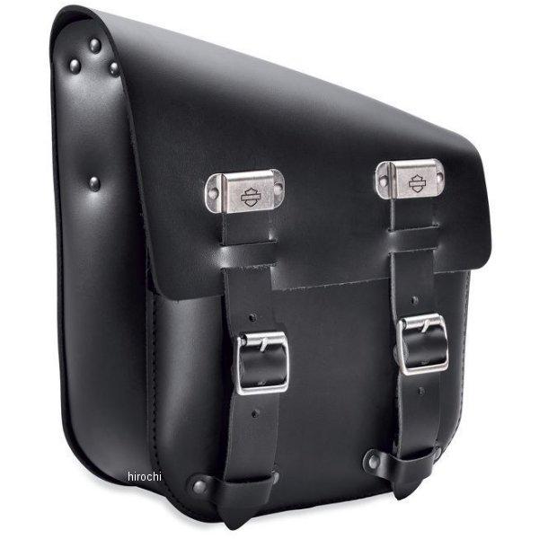 ハーレー純正 シングルサイド スイングアームバッグ 18年以降 ソフテイル 黒レザー 90201567 HD店