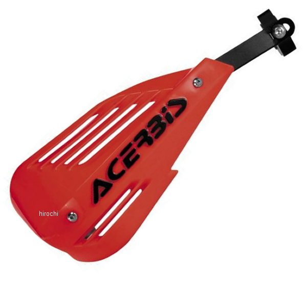 【USA在庫あり】 アチェルビス ACERBIS ハンドガード エンデュランス 赤 737779 HD店