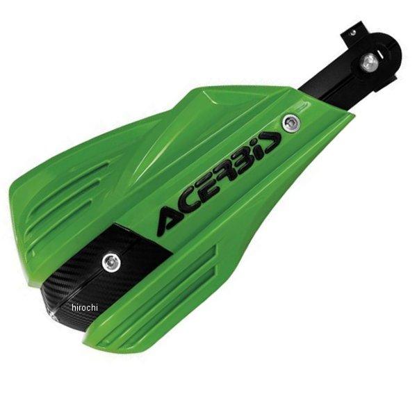 【USA在庫あり】 アチェルビス ACERBIS ハンドガード X-FACTOR 緑 737798 HD店