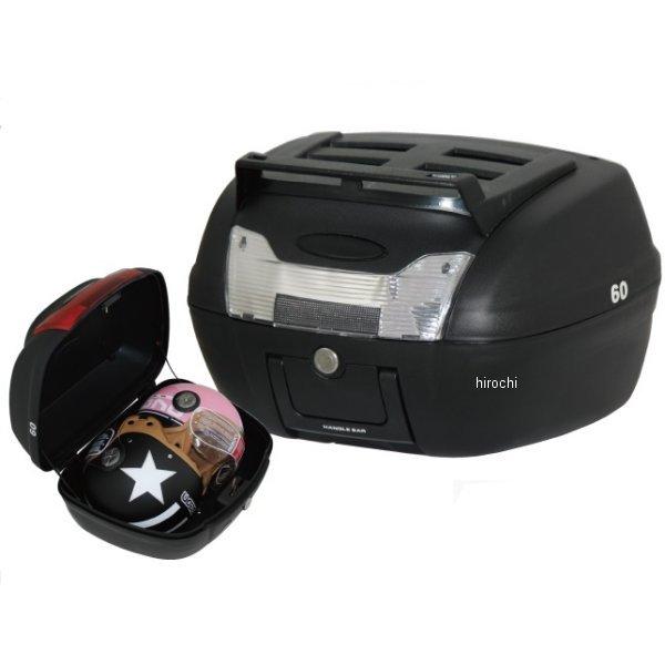 マッドマックス MAD MAX リアボックス 40L 上部キャリア付 黒/クリアレンズ MM18-E60B-01C HD店