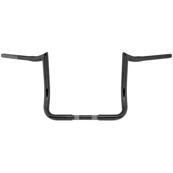 【USA在庫あり】 バイカーズチョイス Biker's Choice ハンドルバー プライムエイプ 13インチ FLH 黒 404405 HD店