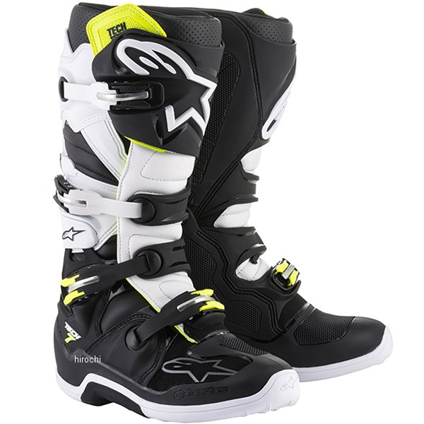 【メーカー在庫あり】 アルパインスターズ テック7 ブーツ 黒/白 9サイズ 27.5cm 2012014-12-09 HD店