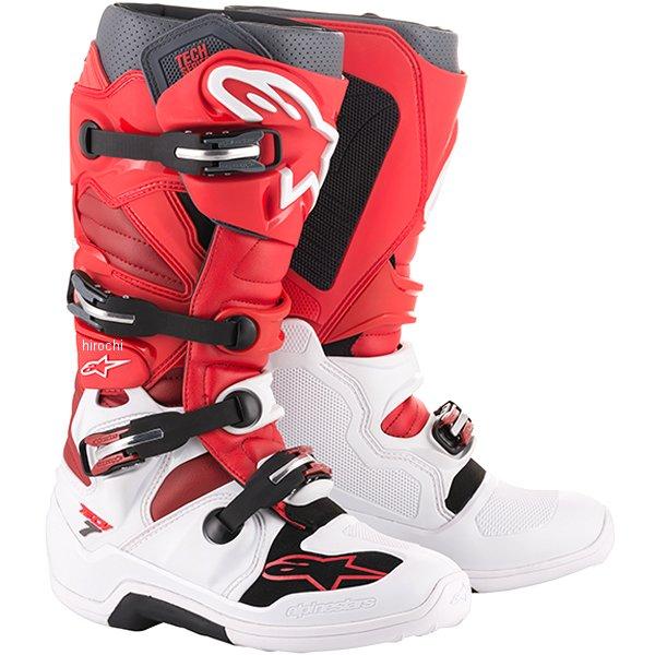 アルパインスターズ ブーツ テック7 白/赤/バーガンディ 9サイズ 27.5cm 2012014-2033-9 HD店
