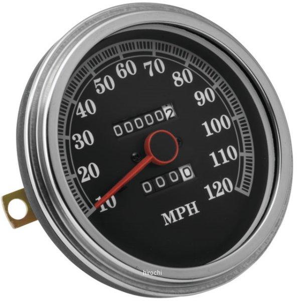 【USA在庫あり】 バイカーズチョイス Biker's Choice スピードメーター 91年-95年 FLST、FXST ブラックフェイス 490043 HD